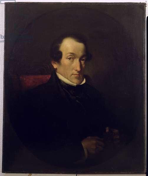 Dr. Frederick Septimus Leighton (1800-92), c.1850 (oil on canvas)