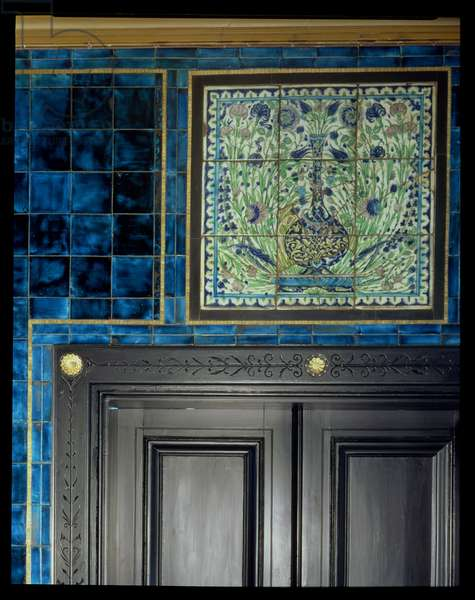 Doorway, Narcissus Hall (photo) (see also 250631)