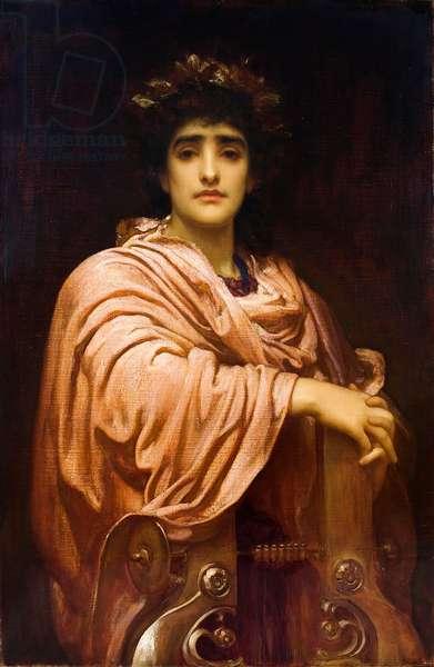 Corinna of Tanagra, c.1893 (oil on canvas)