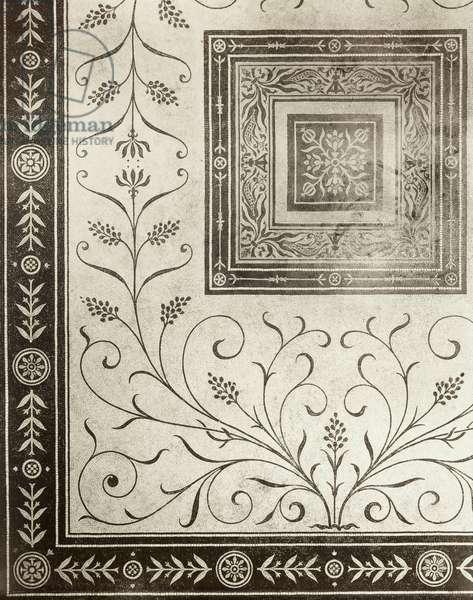 Detail of Mosaic Floor (photo)