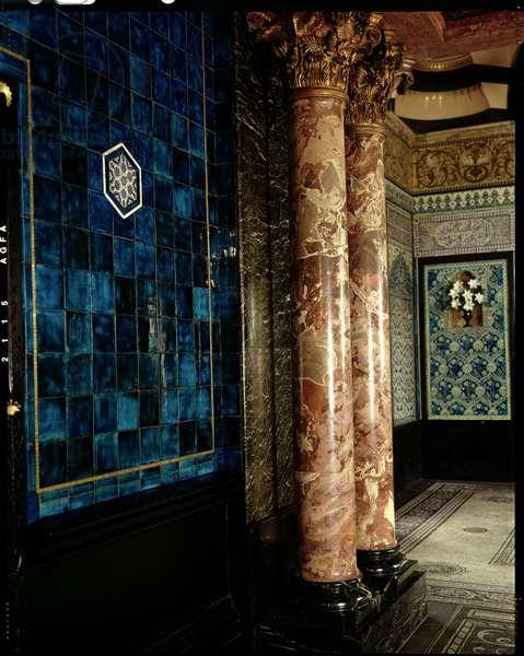Leighton House Museum, Narcissus Hall, Kensington & Chelsea, London, UK (photo)