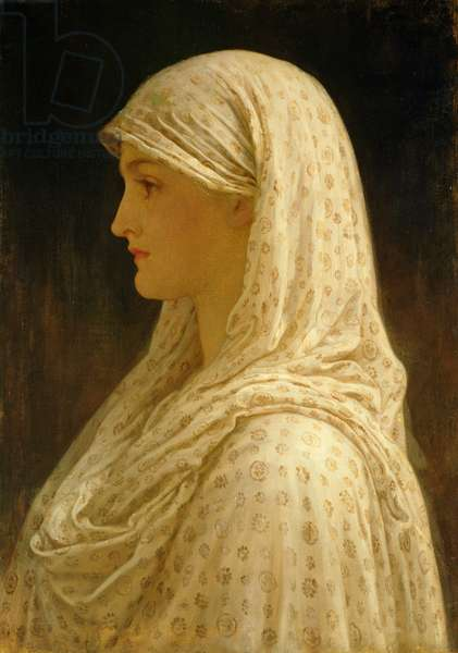 The Vestal, c.1882-83 (oil on canvas)