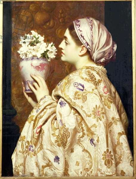 A Noble Lady of Venice, c.1865 (oil on canvas)