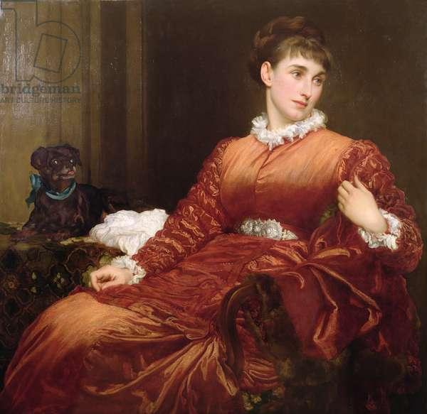 Mrs Henry Evans Gordon (1845-1925), 1877 (oil on canvas)
