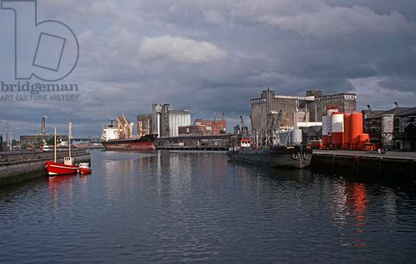 Cork City Harbour, County Cork, as referred to in James Joyce 'A Portrait of the Artist as a Young Man', Ireland (photo)