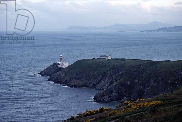 Howth Head, Howth, Dublin, referred to in James Joyce 'Ulysses', Ireland (photo)