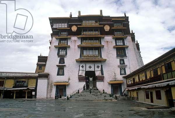 White Palace in the Potala Palace, Lhasa (photo)