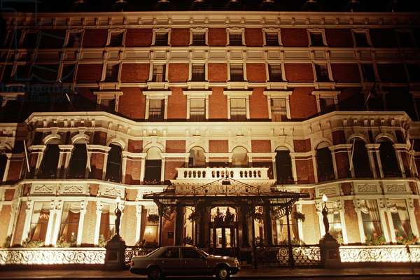 Shelbourne Hotel, as referred to in James Joyce 'Dubliners', St Stephen's Green, Dublin, Ireland (photo)