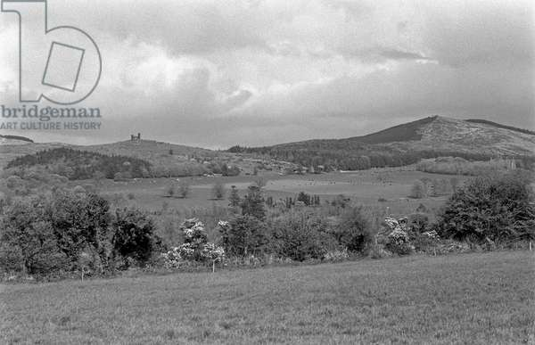 Ballyhoura Hills, County Limerick, referred to in James Joyce 'A Portrait of the Artist as a Young Man', Ireland (photo)