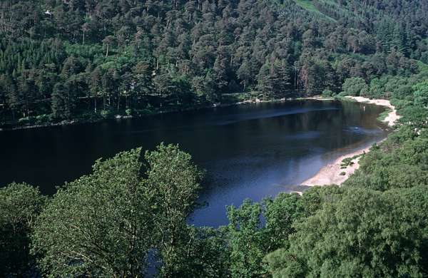 Wicklow Mountains, referred to  by James Joyce in 'Finnegans Wake' (photo)