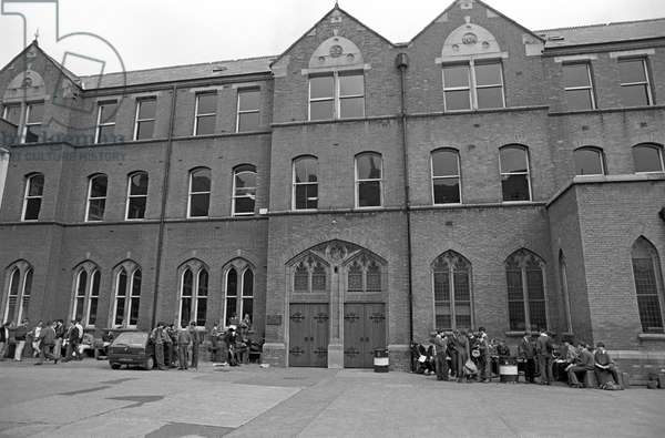 Belvedere College, a private Jesuit Secondary School for Boys which James Joyce attended from 1893-1898, Dublin, Ireland (photo)