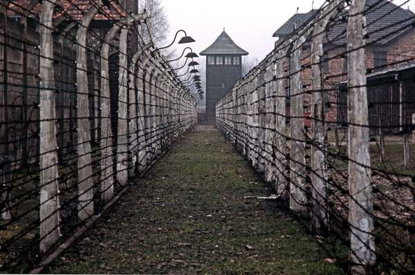 Auschwitz concentration camp, Poland (photo)