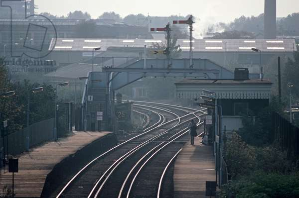 South Acton railway station on the North London Line, London, 1980s, 1982 (photograph)