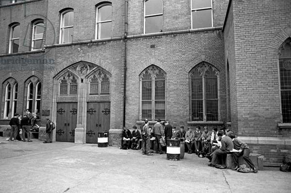 Belvedere College, a private Jesuit Secondary School for Boys which James Joyce attended from 1893-1898 , Dublin, Ireland (photo)