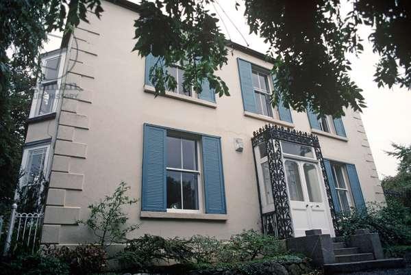 Dalkey House where James Joyce and Stephen Dedalus taught, County Dublin, Ireland (photo)