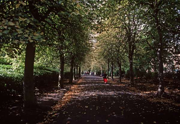 St Stephen's Green, referred to in James Joyce 'Ulysses', Dublin, Ireland (photo)
