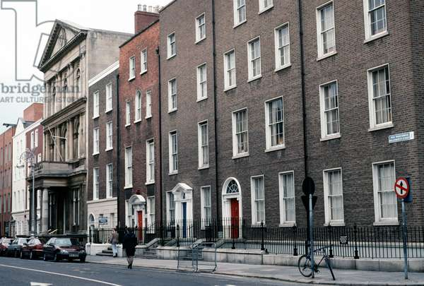 Molesworth Street, Dublin, as referred to in James Joyce 'Ulysses', Ireland (photo)