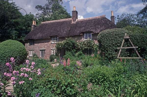 Thomas Hardy cottage, Higher Bockhampton, Dorset, UK, Great Britain, UK (photo)