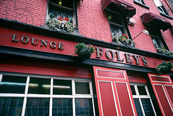 Dublin Bars, as mentioned in James Joyce 'Ulysses', Ireland (photo)