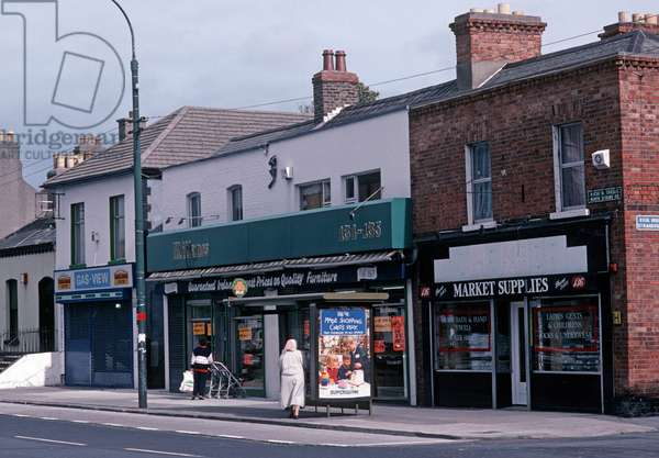 James Joyce lived briefly in the North Strand Road, Fairview when he was 22, Dublin, Ireland (photo)