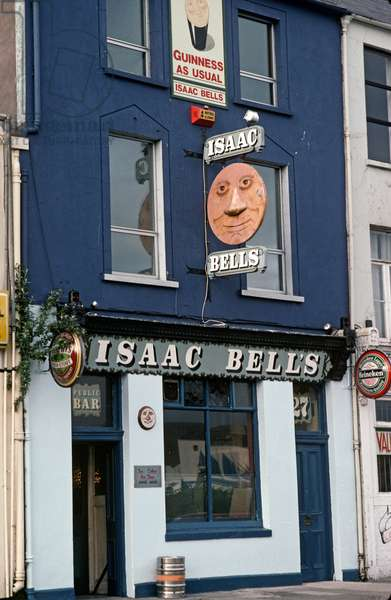 Bars in Cork City, County Cork as referred to in James Joyce 'A Portrait of the Artist as a Young Man', Ireland (photo)
