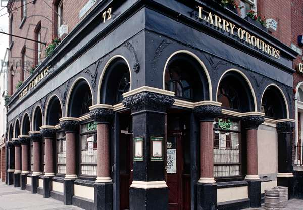 Larry O'Rourke's bar, Dublin, as mentioned in James Joyce 'Ulysses', Ireland (photo)