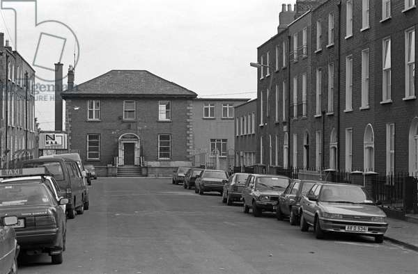 North Richmond Street, Dublin, Referred to by James Joyce in 'Dubliners', Ireland (photo)