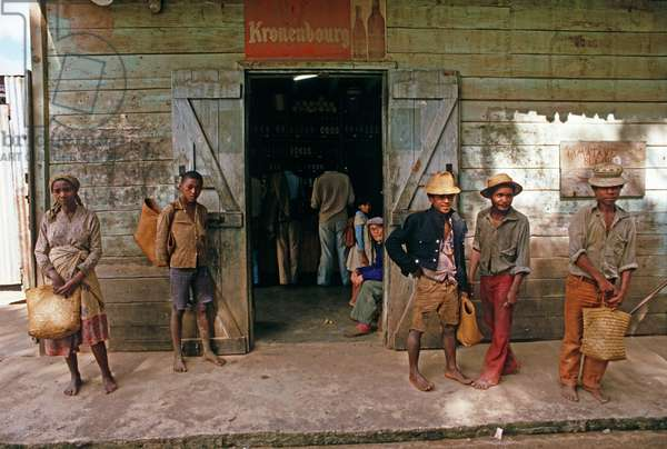 Local store, Perinet, Madagascar, East Africa, Africa, 1980s (photo)
