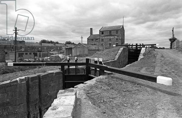 The Royal Canal, Dublin, referred to in James Joyce 'Ulysses', Ireland (photo)