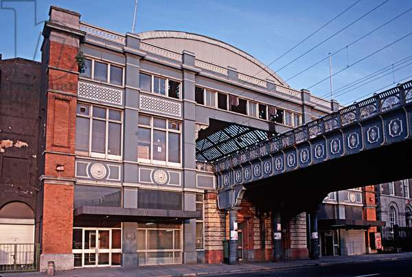 Westland Row Station now known as Pearse Station referred to in James Joyce 'Ulysses', Dublin, Ireland (photo)