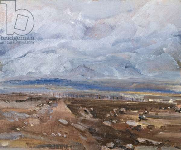 Lough Swilly, Co. Donegal, (oil on board)