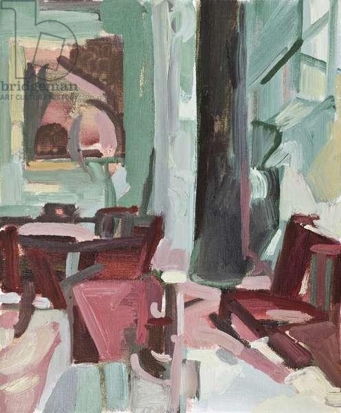 Broken Light, Clandeboye Dining Room, (oil on board)