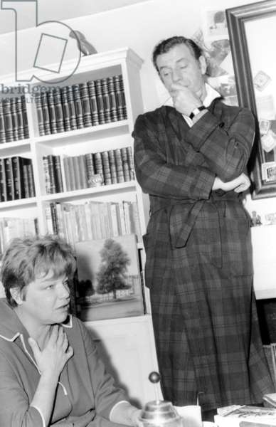Montand and Signoret