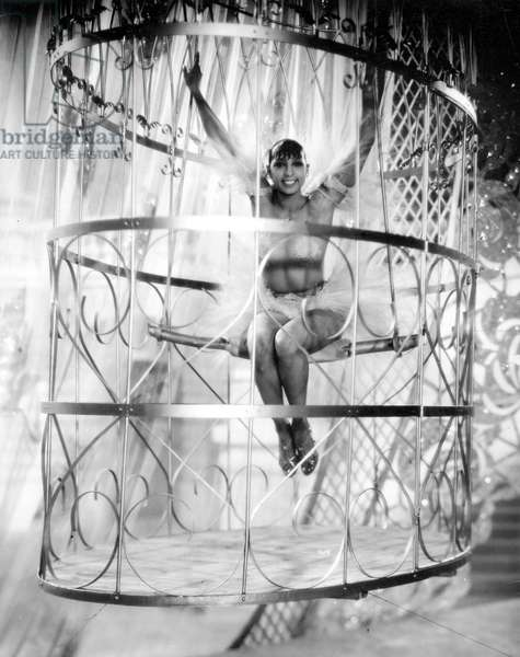 Josephine Baker in Zouzou, 1934 (b/w photo)