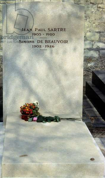 Tomb of Sartre and De Beauvoir