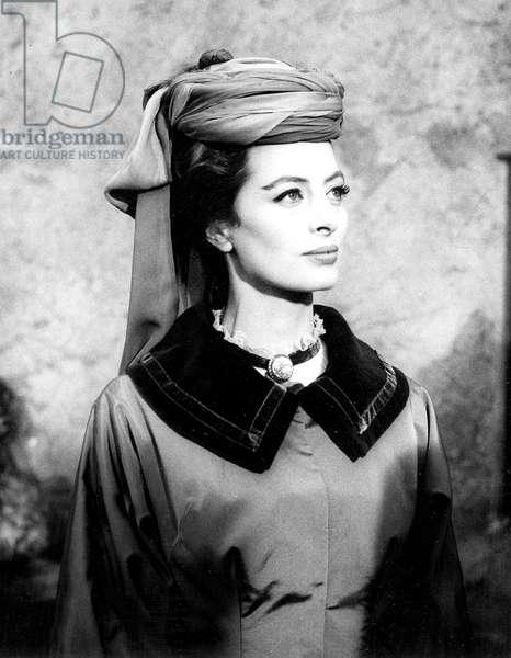 Actress Capucine,