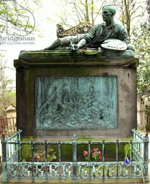 Tomb of Théodore Géricault, Le Père Lachaise, Paris (photo)