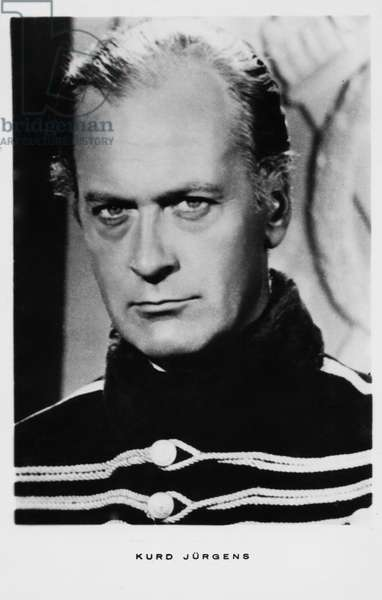 Portrait of Curd Jurgens as Michel Strogoff, 1956 (b/w photo)