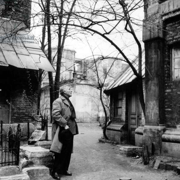 Painter Marc Chagall at