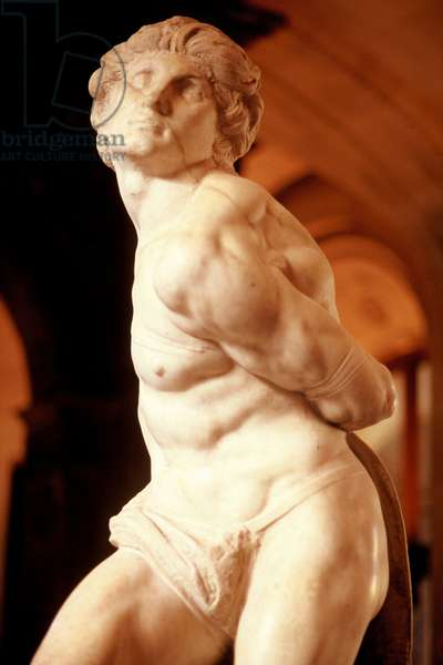 The Rebellious Slave (marble)