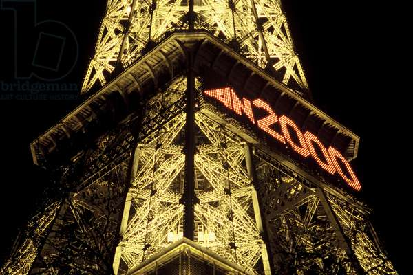 Eiffel Tower, Year 2000 (photo)