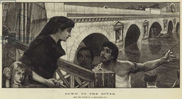 Down to the River (engraving)