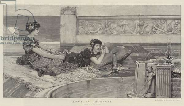 Love in Idleness (engraving)