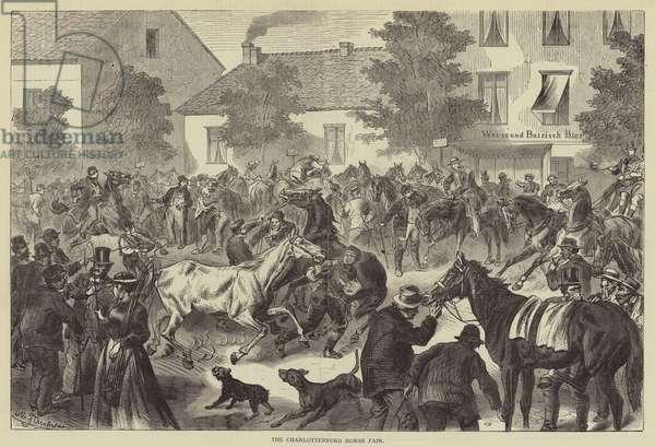 The Charlottenburg Horse Fair (engraving)