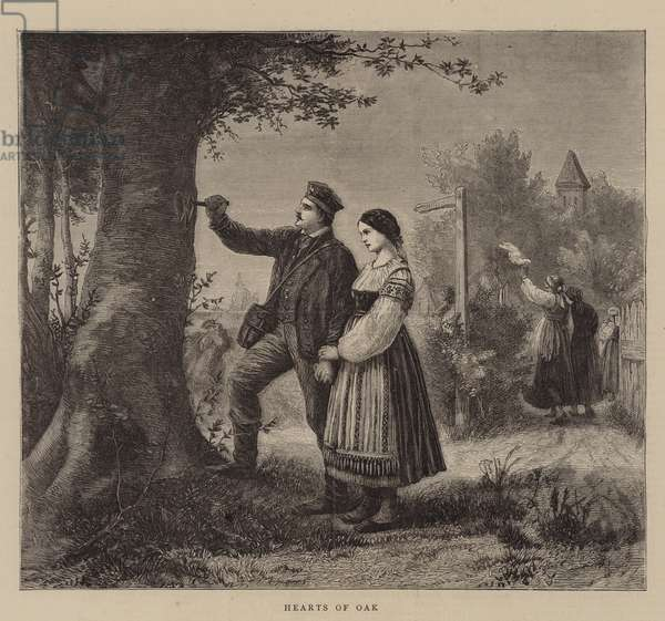 Hearts of Oak (engraving)