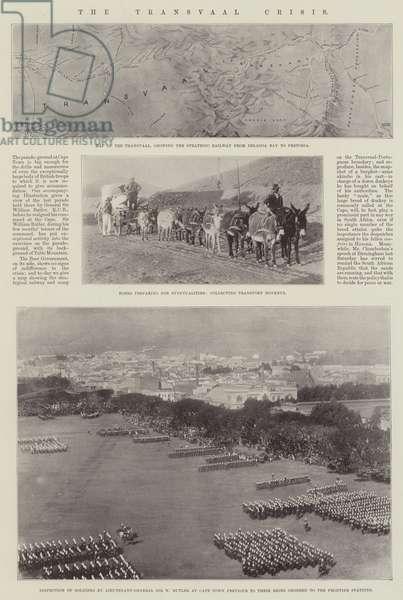 The Transvaal Crisis (b/w photo)