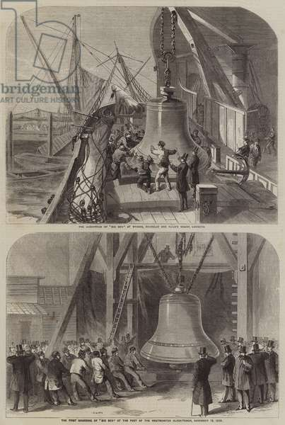The Arrival of Big Ben (engraving)