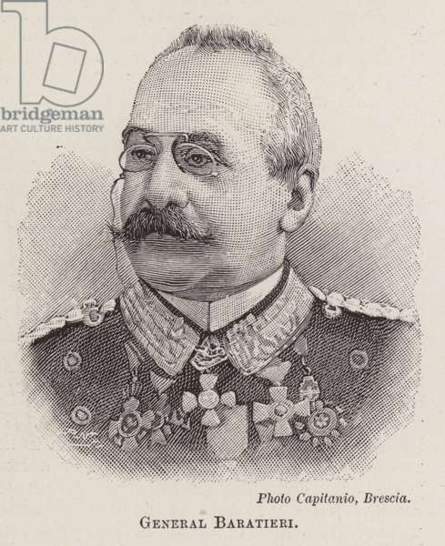 General Baratieri (engraving)