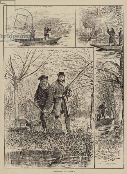 Jack-Fishing at Kingston (engraving)