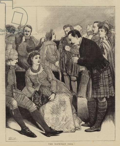 The Waverley Ball (engraving)